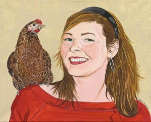 International Respect for Chickens Month, and Animal Activism Through Art