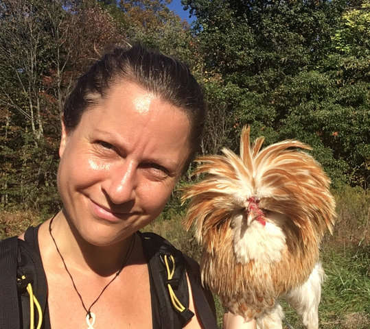 The Chicken Appreciation Show: Heather Bolint on Rescuing Eddie the Rooster, and Karen Davis on the Ethics of Keeping Backyard Hens for Eggs