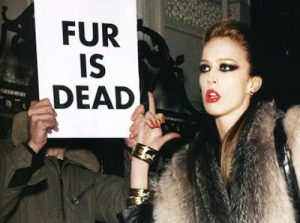 Is this the reaction you get when you talk to people about fur?
