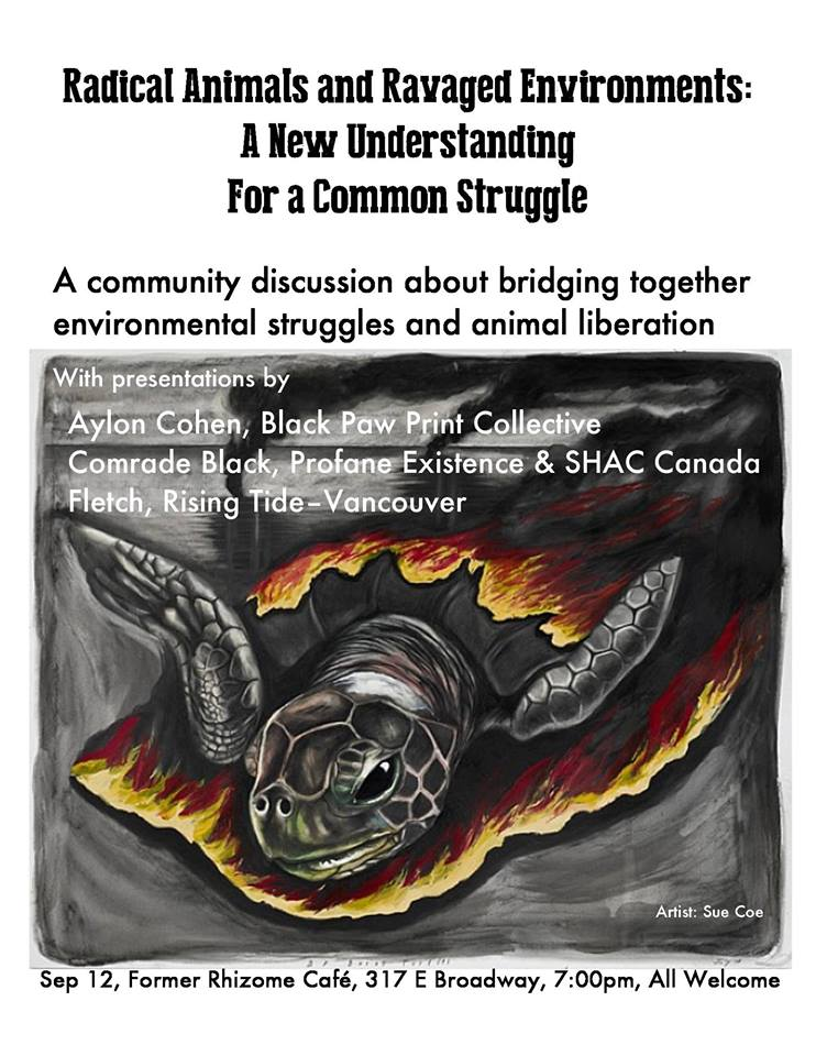 Building Solidarity: Coastal First Nations Band Together for Bears  /  Common Ground for Earth Defense and Animal Liberation